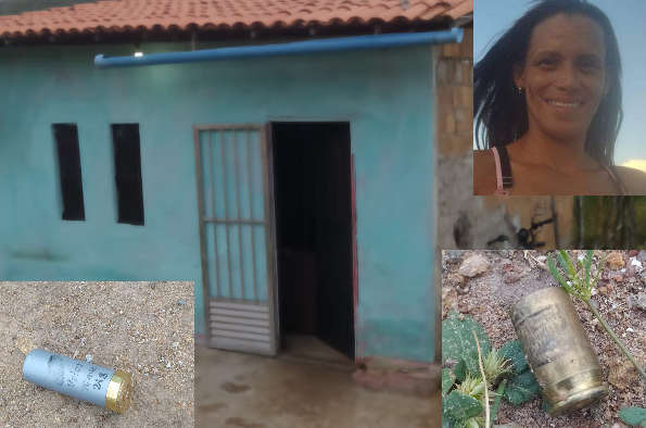 Mulher é executada dentro de casa na cidade de Anguera